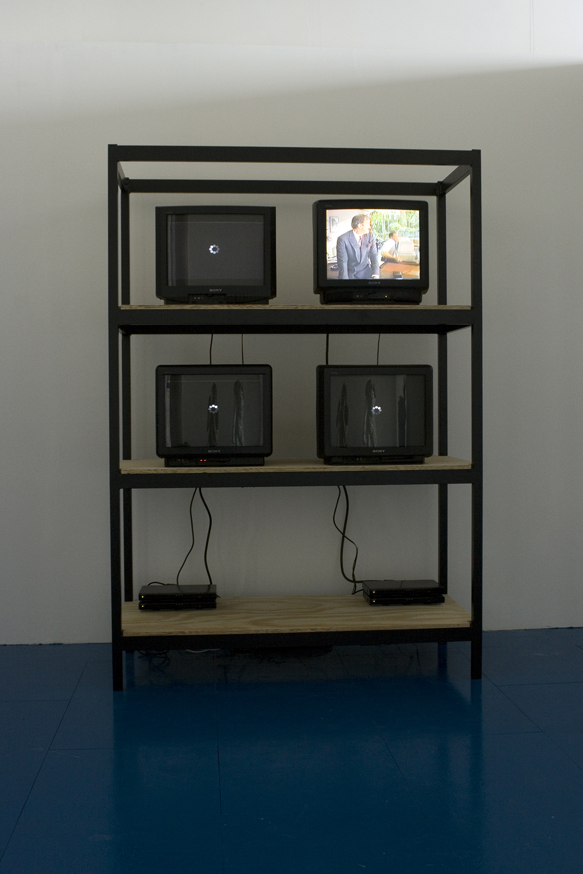 Say Standing Reserve, Say Computers, Tellys, Encyclopedias, Amateurs and Art,2011, installation view